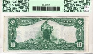 $10 1902 Plain Back The First National Bank of Port Jefferson, NY CH# 5068