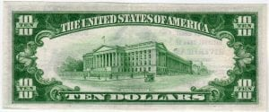 $10 1929 The Suffolk County National Bank of Riverhead, NY CH# 4230