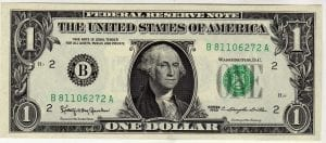 Fr.1900-B Mule $1 1963 New York GEM CU