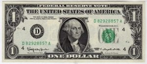 Fr.1900-D $1 1963 Cleveland GEM CU
