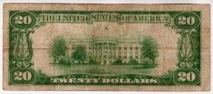 $20 1929 The Babylon National Bank & Trust Company Babylon, NY CH# 10358