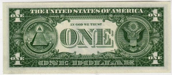 Fr.1900-E* Mule $1 1963 Richmond STAR GEM CU