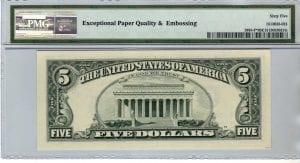 Fr.1985-F* $5 1995 Atlanta STAR PMG GEM 65 EPQ