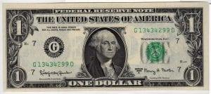 Fr.1901-G $1 1963 A Chicago Choice CU