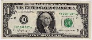 Fr.1900-H $1 1963 ST.Louis GEM CU