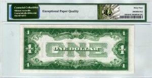 Fr.1604 $1 1928 D D-B Block PMG Choice Uncirculated 64 EPQ