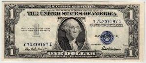 Fr.1615 $1 1935 F Y-I Block Choice Uncirculated