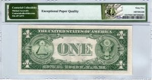 Fr.1615* $1 1935 F STAR PMG GEM Uncirculated 65 EPQ