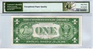 Fr.1608 $1 1935 A B-B Block PMG Choice Uncirculated 63 EPQ