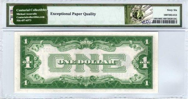 Fr.1601 $1 1928 A G-A Block PMG GEM Uncirculated 66 EPQ
