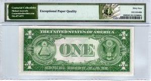 Fr.1608 $1 1935 A H-B Block PMG Choice Uncirculated 64 EPQ