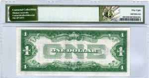 Fr.1601 $1 1928 A N-A Block PMG Choice About Uncirculated 58
