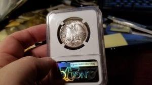 1929 D Walking Liberty Half Dollar NGC MS 62