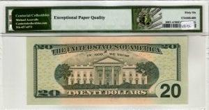 Fr.2097-A* $20 2013 Atlanta Star PMG GEM Uncirculated 66 EPQ