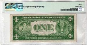 Fr.1607m $1 1935 P-A Block Mule PMG Very Fine 30 EPQ