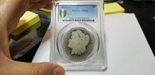 1893 S $1 Morgan Silver Dollar PCGS FR02 Great Low Ball Registry - Key Date !!